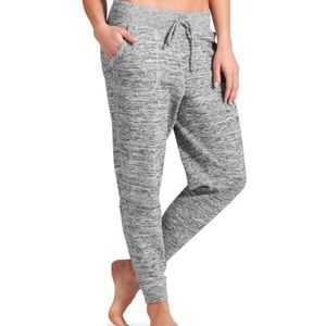 Athleta Techie Sweatpants Heathered Gray Jogger